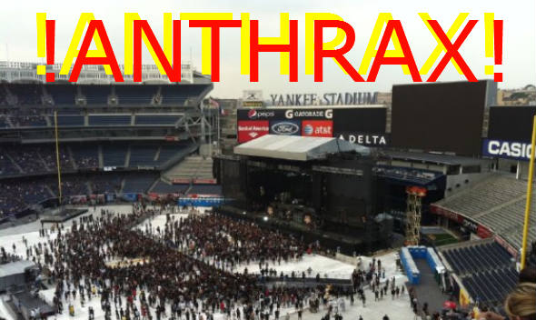 Anthrax - Big 4 - Yankee Stadium 2011