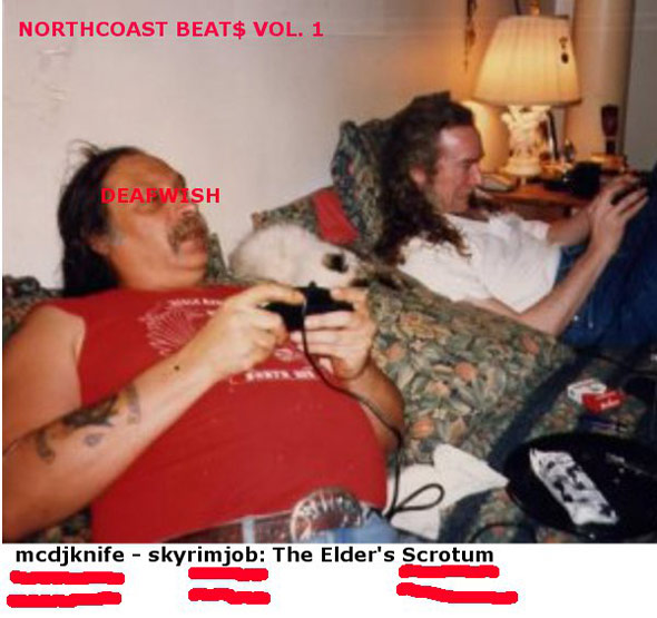 MCDJ Knife - SKYRIMJOB: THE ELDER'S SCROTUM - NORTHCOAST BEAT$ VOL. 1