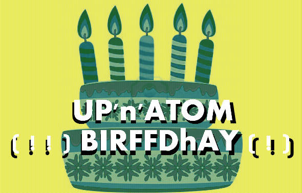 UP'n'ATOM celebrate Bass Players 21st Birthday