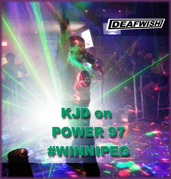 Kelly J Devoe - Interview on Power 97