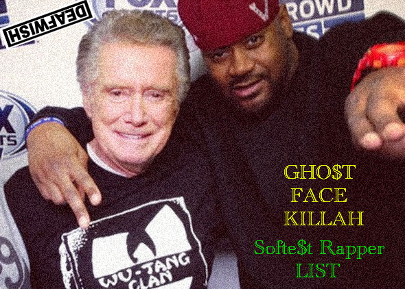 Ghostface Killah - Softest Rapper in the Game List 2013