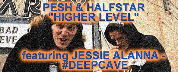 Pesh & Halfstar - Higher Level - Deepcave Records
