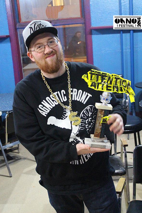 Best door Guy Award - Oh No Festival 2014