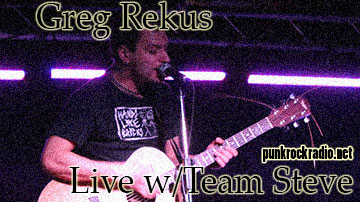 L!STEN: Team Steve Podcast feat. Greg Rekus – PunkRockRadio.net