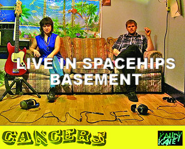 WATCH! Cancers (Athens, GA) Live in Spaceships Basement #WINNIPEG #CANADA