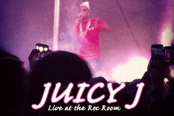 Juicy J - Live at the Rec Room - Winnipeg