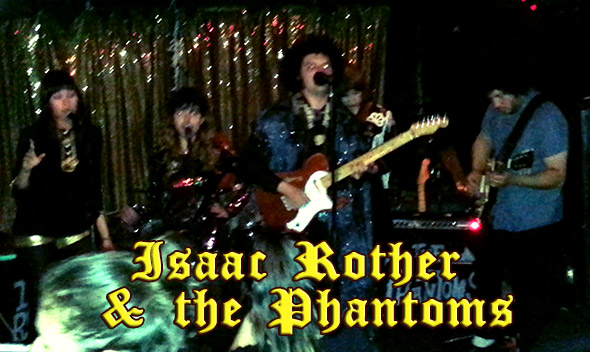 Isaac Rother & the Phantoms - Bay Area Ghoul Rock