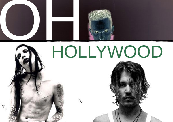 Oh Hollywood… Johnny Depp, Marilyn Manson & Ninja play Beautiful People