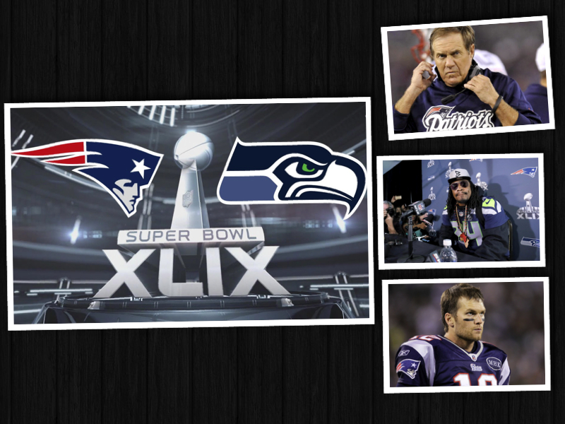 SUPER BOWL XLIX: LYNCH MEDIA CIRCUS / DEFLATE GATE SCANDAL AND MORE