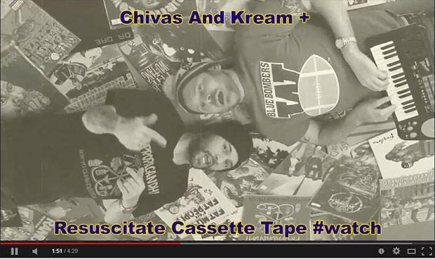 Chivas And Kream – Resuscitate Cassette Tape #watch