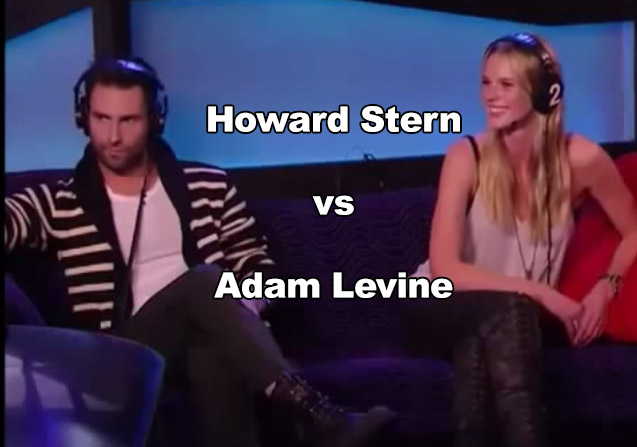 Howard Stern Interviews Adam Levine #watch