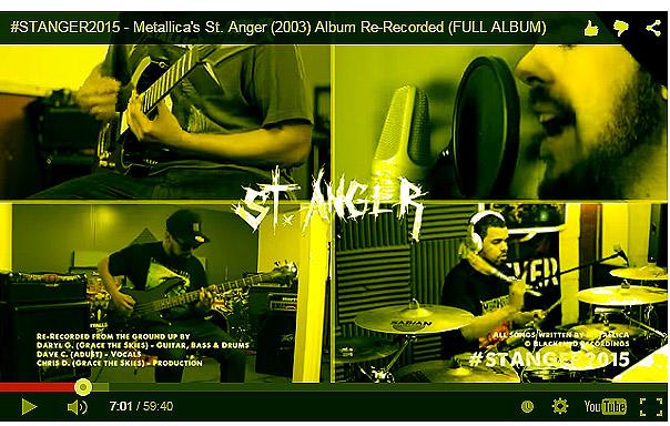 Daryl, Chris & Dave Re-record Metallica's St Anger #watch #listen