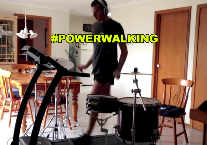 Blink 182 – All the Small things – Treadmill Drum Cover #watch