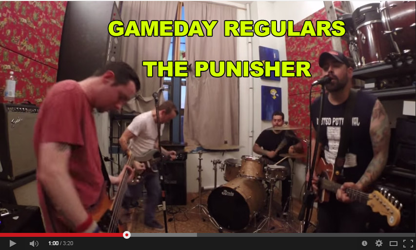 Watch: Gameday Regulars – The Punisher #nyc #punk