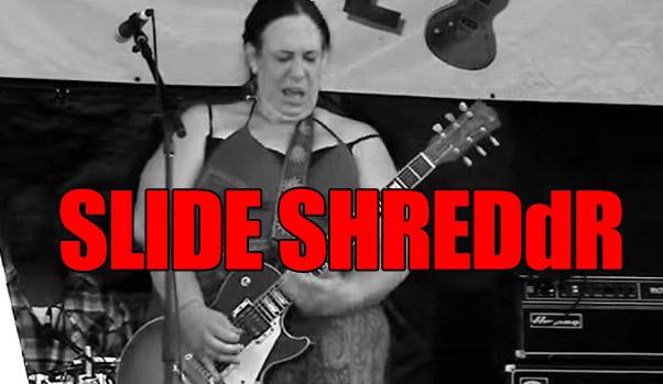 Slide Guitar Shredder Joanna Connor @ North Atlantic Blues Fest
