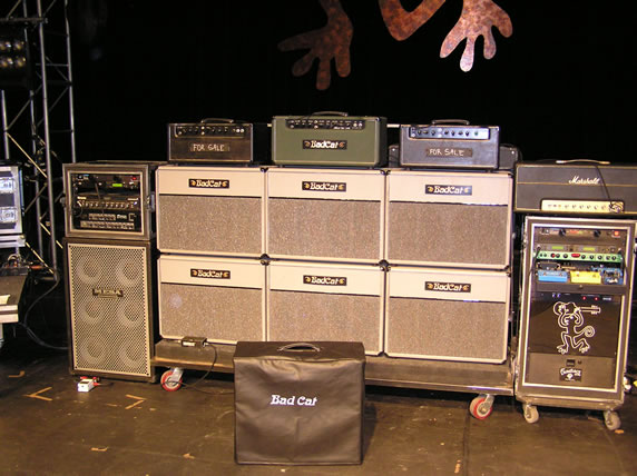 Nice gear, where's the riffs?