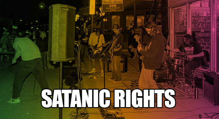 Satanic Rights – High Horse Skeleton #listen #winnipeg #rock