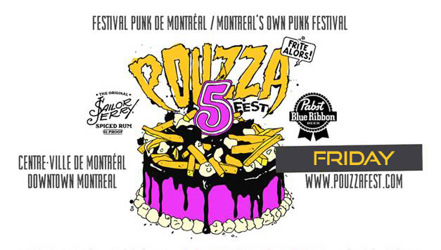 Friday: 5 Bands to see at Pouzzafest