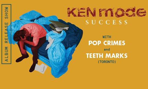 Kenmode, Teethmarks & Pop Crimes @ Goodwill #winnipeg – June 26, 2015