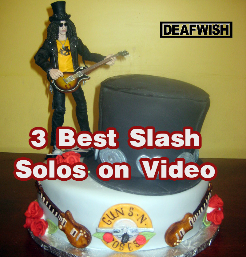 Celebrating 50 Years! 3 Best Slash Solos on Video