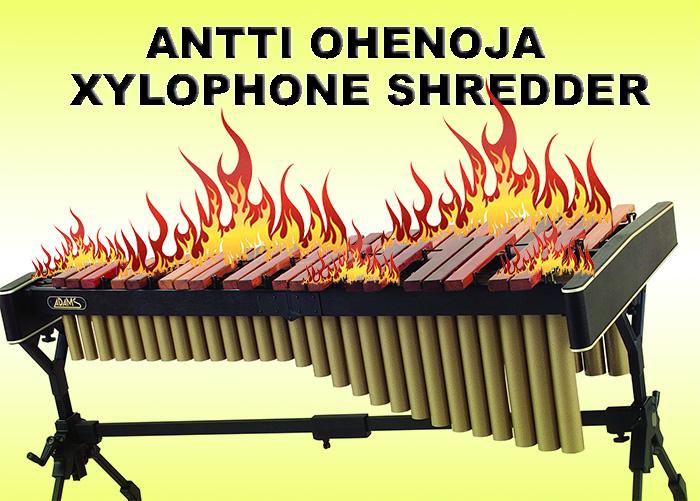 Antti Ohenoja – Xylophone Shredder #watch